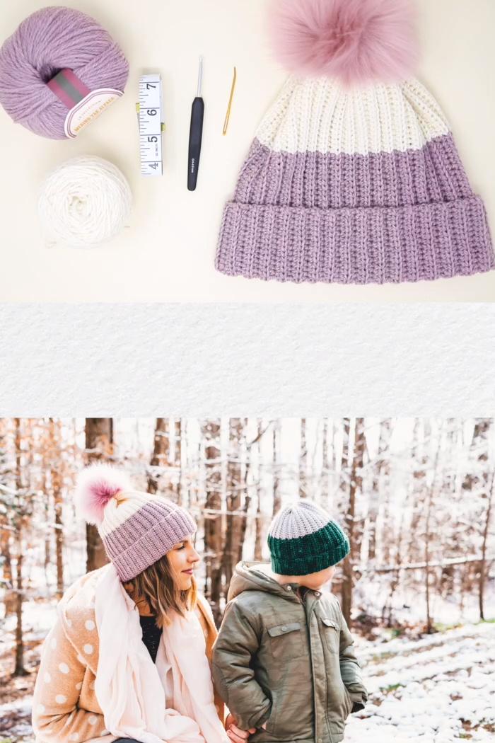 Photo of Crochet Dip Dye Hat – free beginner pattern