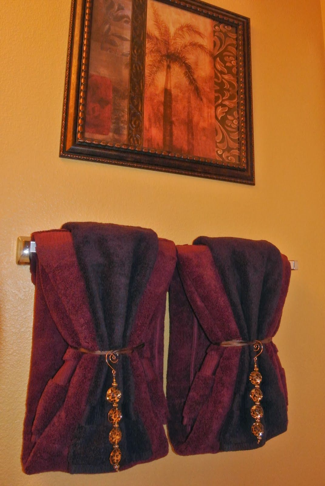 Pinterest also bathroom towel decor idea need the right color of towels rh
