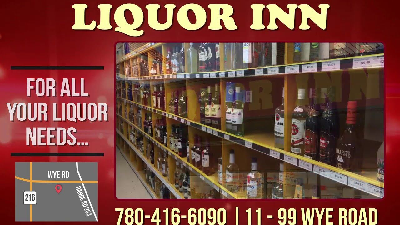 Edmonton Are You Looking For A Liquor Store With A Huge Selection Check Out Liquor Inn Liquorinn Ibdmedia Ibd Media Liquor Liquor Store Inn Edmonton