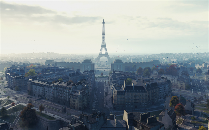Descargar Fondos De Pantalla World Of Tanks Mapa De Paris Wot El