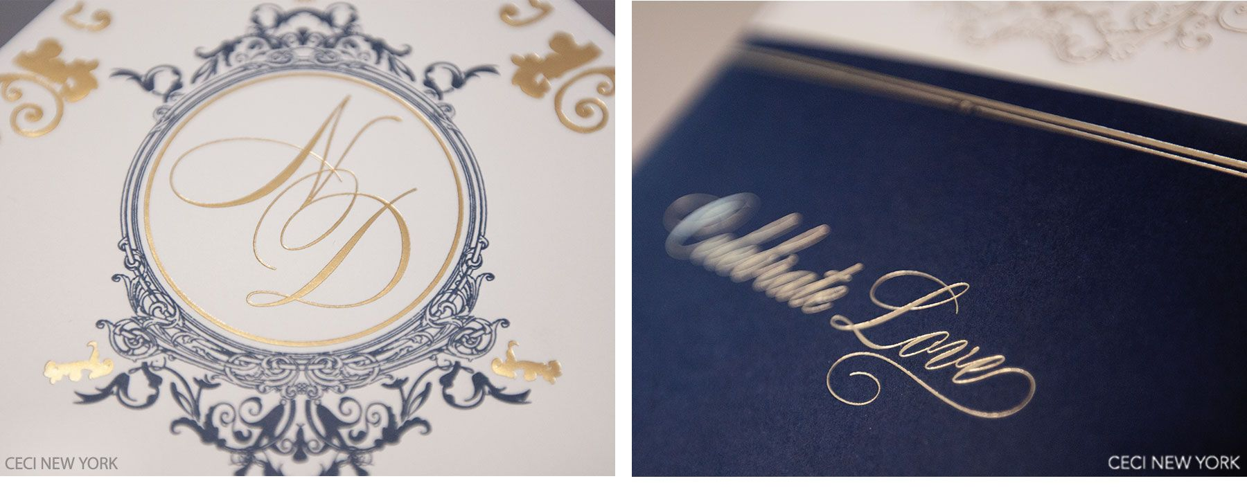 Blue And Gold Wedding Invitations Cinderella Wedding Dress With – Navy Blue and Gold Wedding Invitations