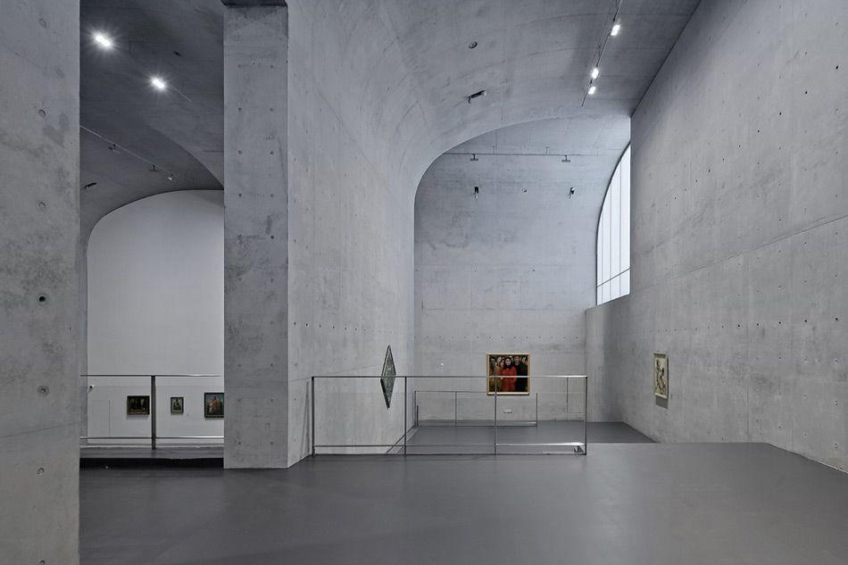 Vaulted Concrete Forms Shape Long Museum West Bund By Atelier Deshaus Museum Atelier Concrete Forms