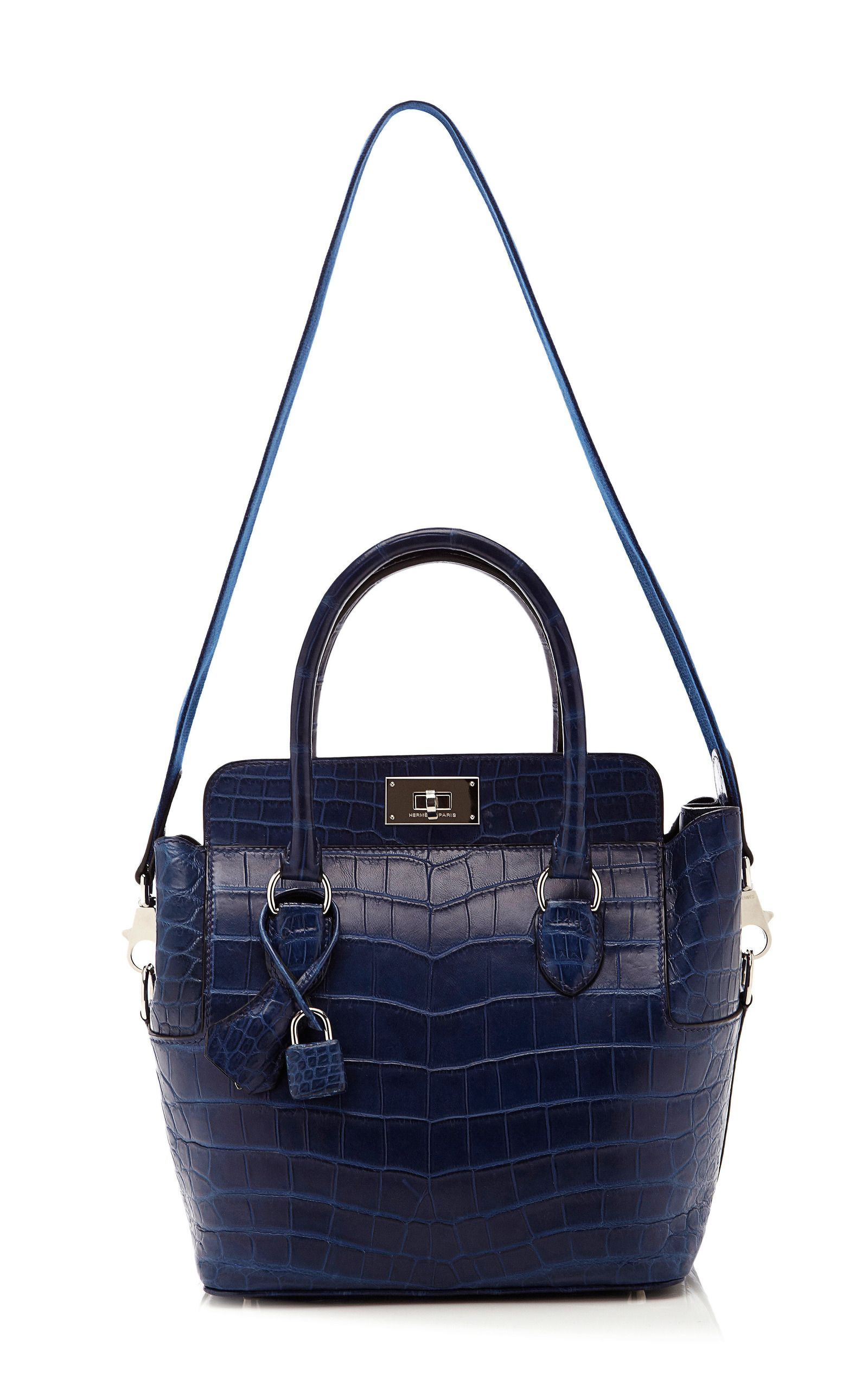 Handmade Couture: Make this Look. You can make this blue Hermes bag ...