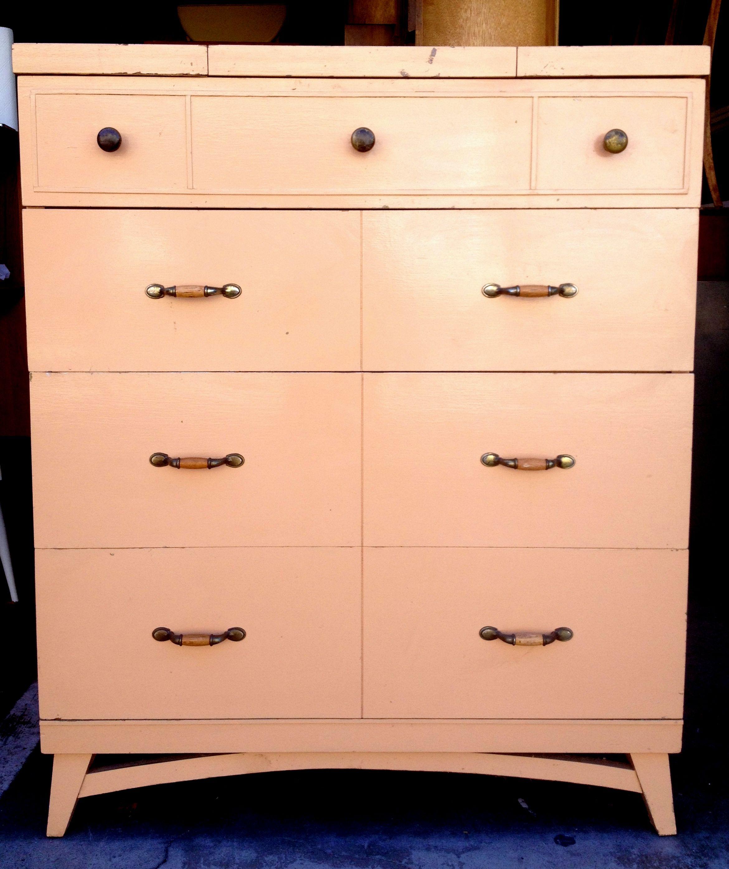 Vintage beige cream highboy dresser furniture ideas for the yah