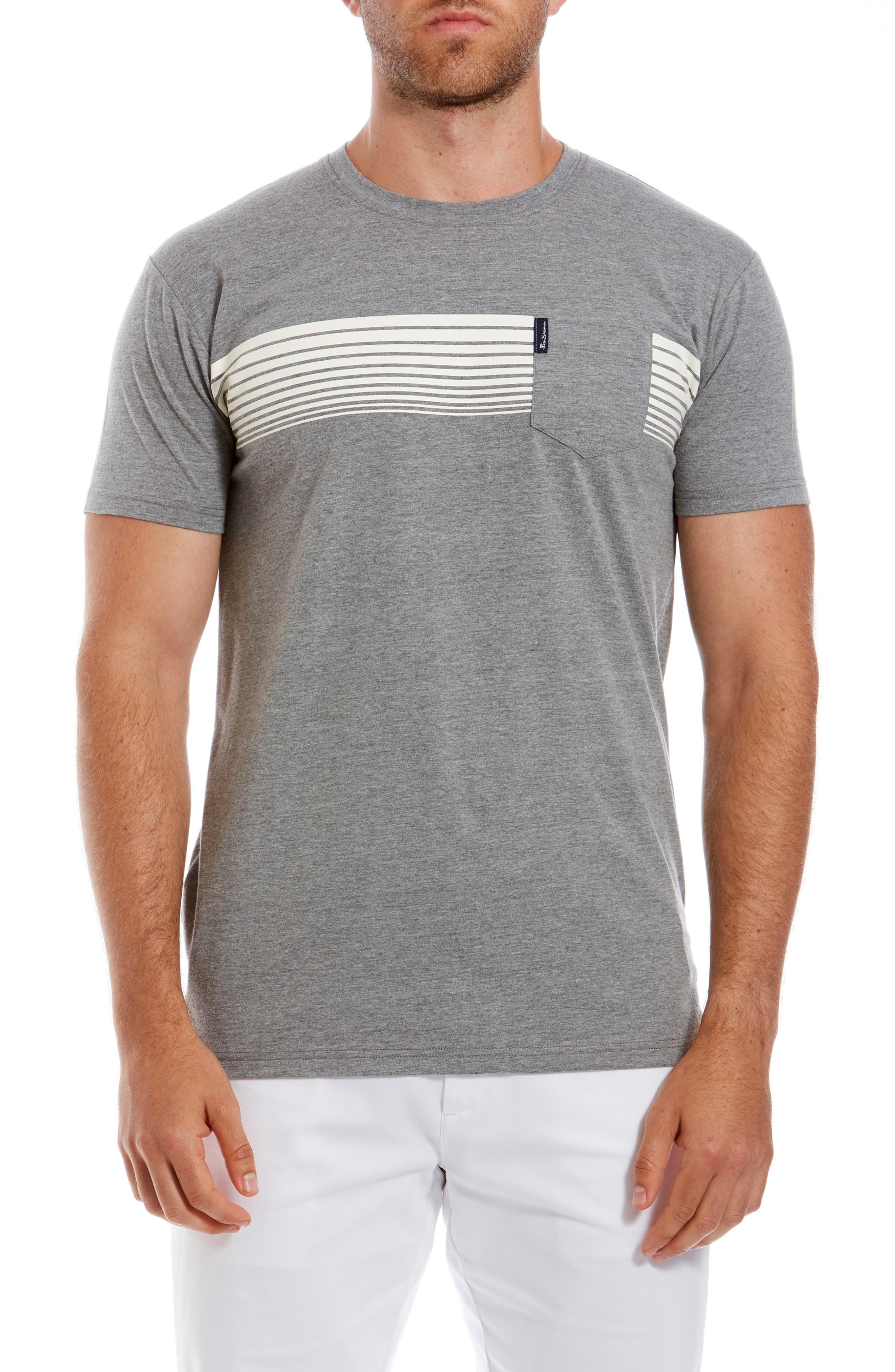 Ben Sherman Chest Stripe T Shirt In 2019 Products Ben Sherman Mens Clothing Styles Shirts
