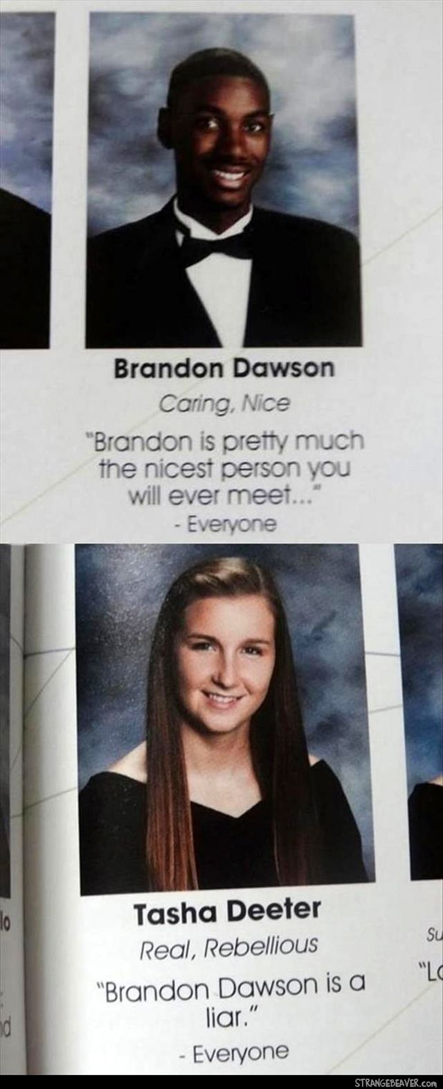 Medium Crop Of Funny Yearbook Pictures