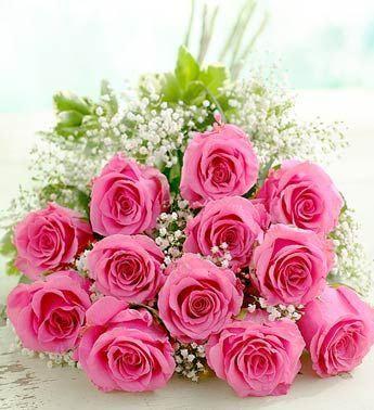 Spasy Gl Pink Rose Bouquet Rose Flower Flower Delivery