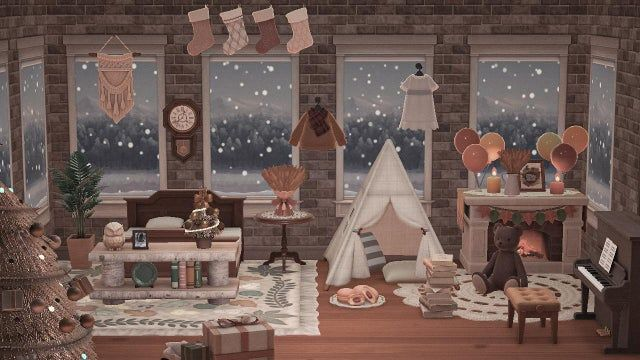 cozy Christmas room ⛄