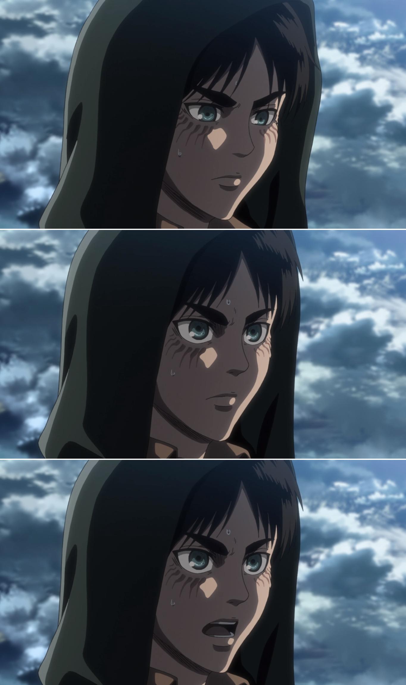 Eren SnK season 3 part 2 Attack on titan, Anime