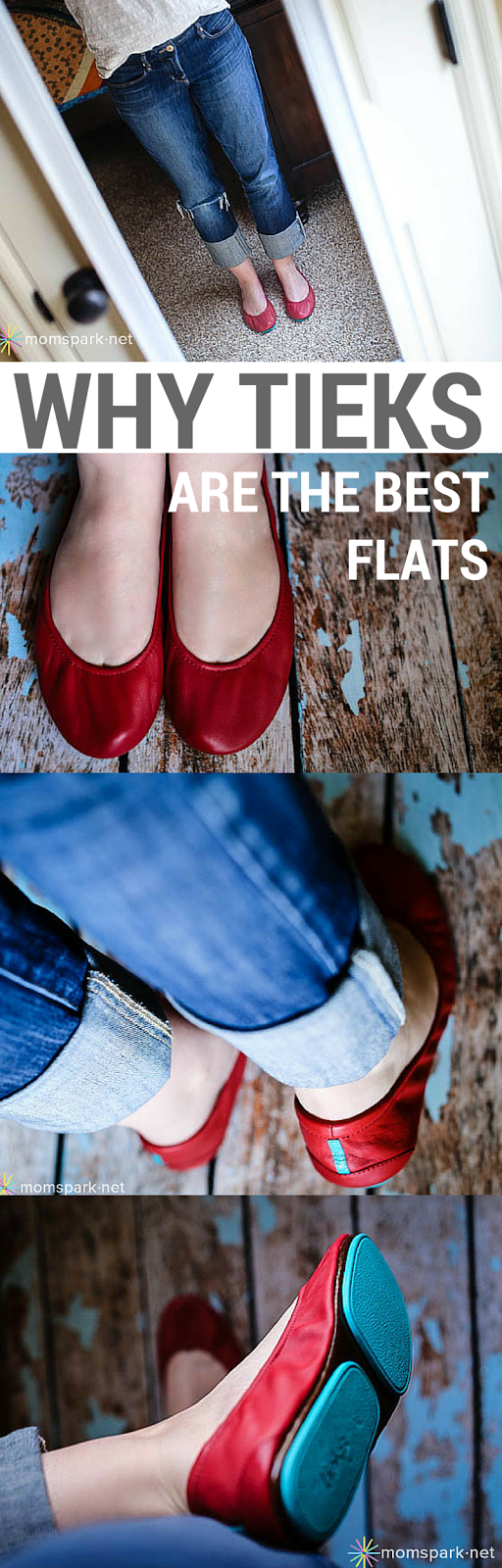 The Comfort of Tieks Ballet Flats.