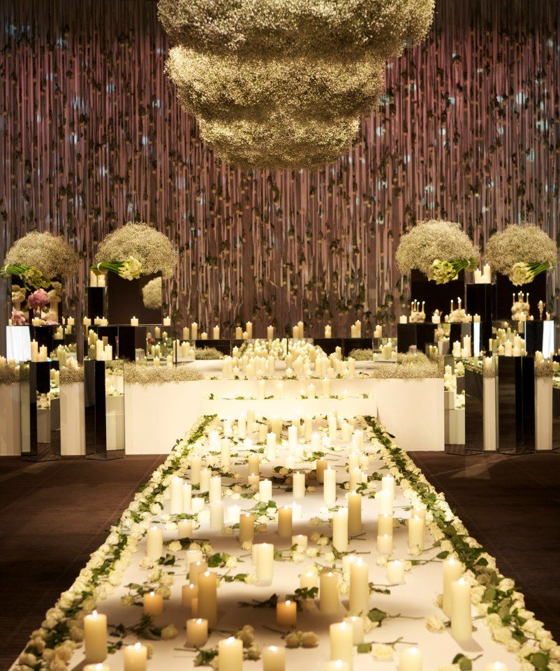 Most Expensive Wedding Reception Decor Google Search