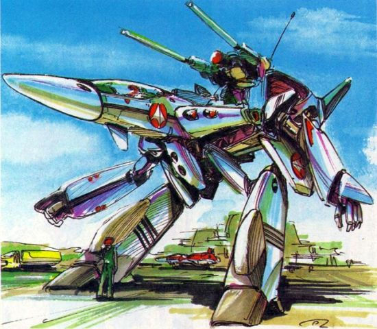 A Brief History Of The Vf 4 S Design Collectiondx Robotech