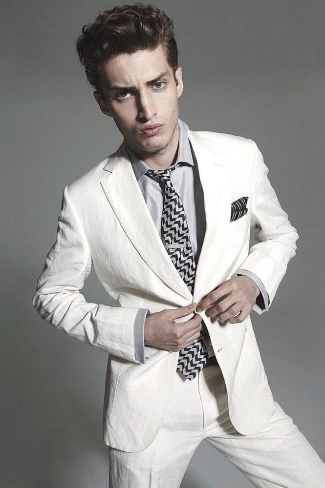 Suit Line White Slim New Cotton Fit Stretch M 56 Collezioni Armani ttzBI