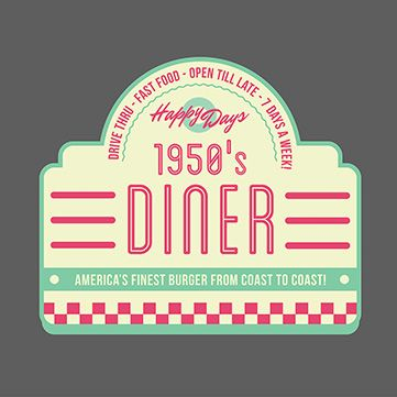 Create A 1950s Retro Logo Using My Ready Made Template