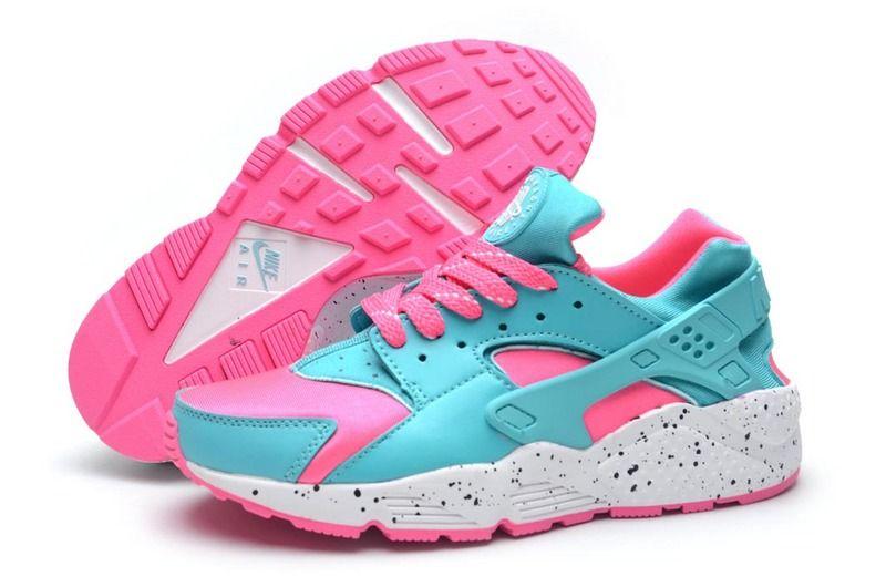 3d53218327b80 Women Nike Air Huarache Shoes Green Pink Ink Nike Air Huarache - Nike  official website Up to 50% discount