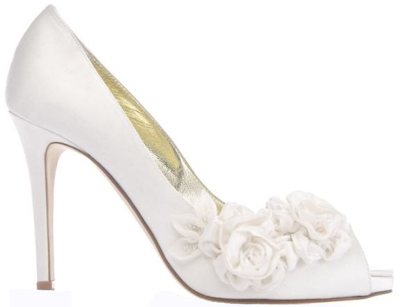 17 Best images about Wedding shoes on Pinterest | Pump, Peep toe ...