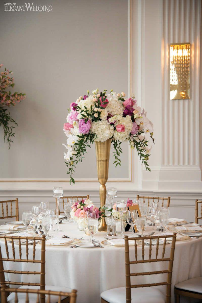 a luxurious persian wedding at the king edward hotel flower rh pinterest com