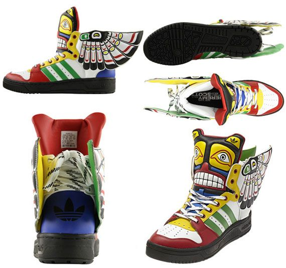 Jeremy Scott x adidas Originals JS Totem Eagle | Random