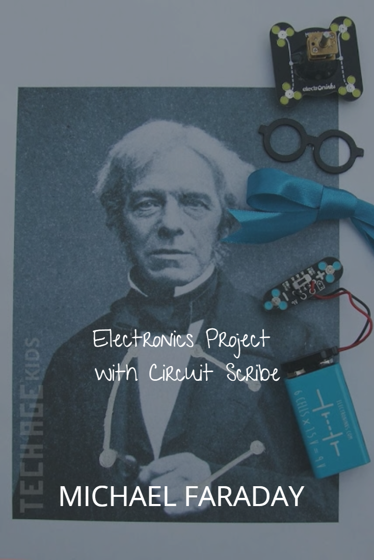 Michael Faraday With A Motorised Circuit Scribe Bow Tie Pinterest Want Electronics Project Created The First Electric Motor