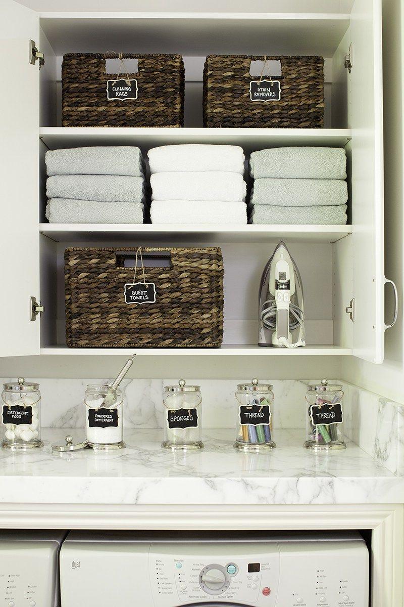 Laundry Room Organization Makeover Laundry Room Organization