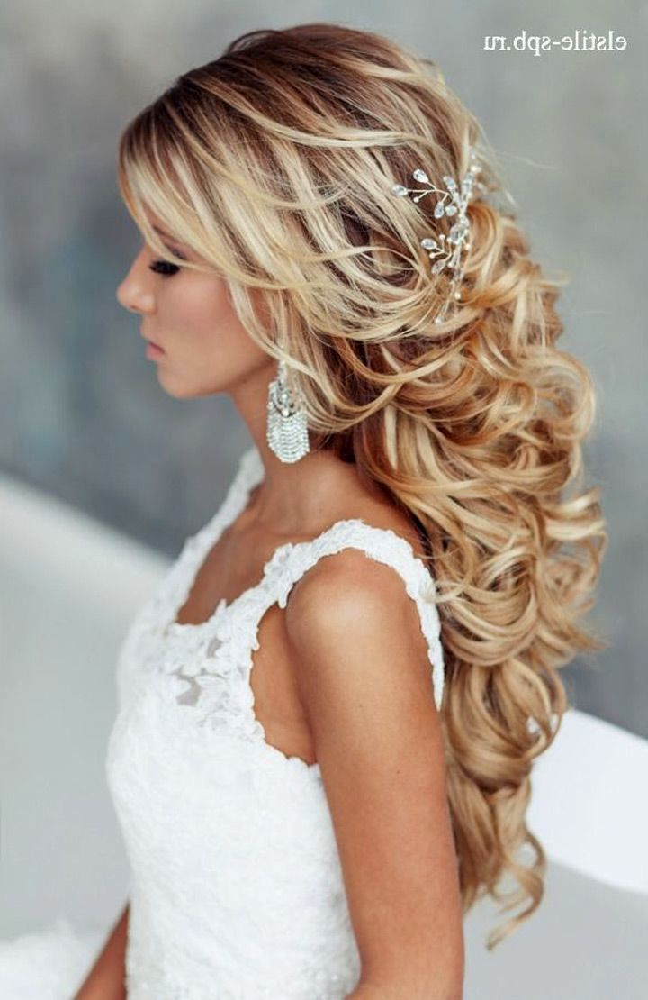 Long Hairstyles For Weddings On Wedding Hairstyles With Long For Guest 9