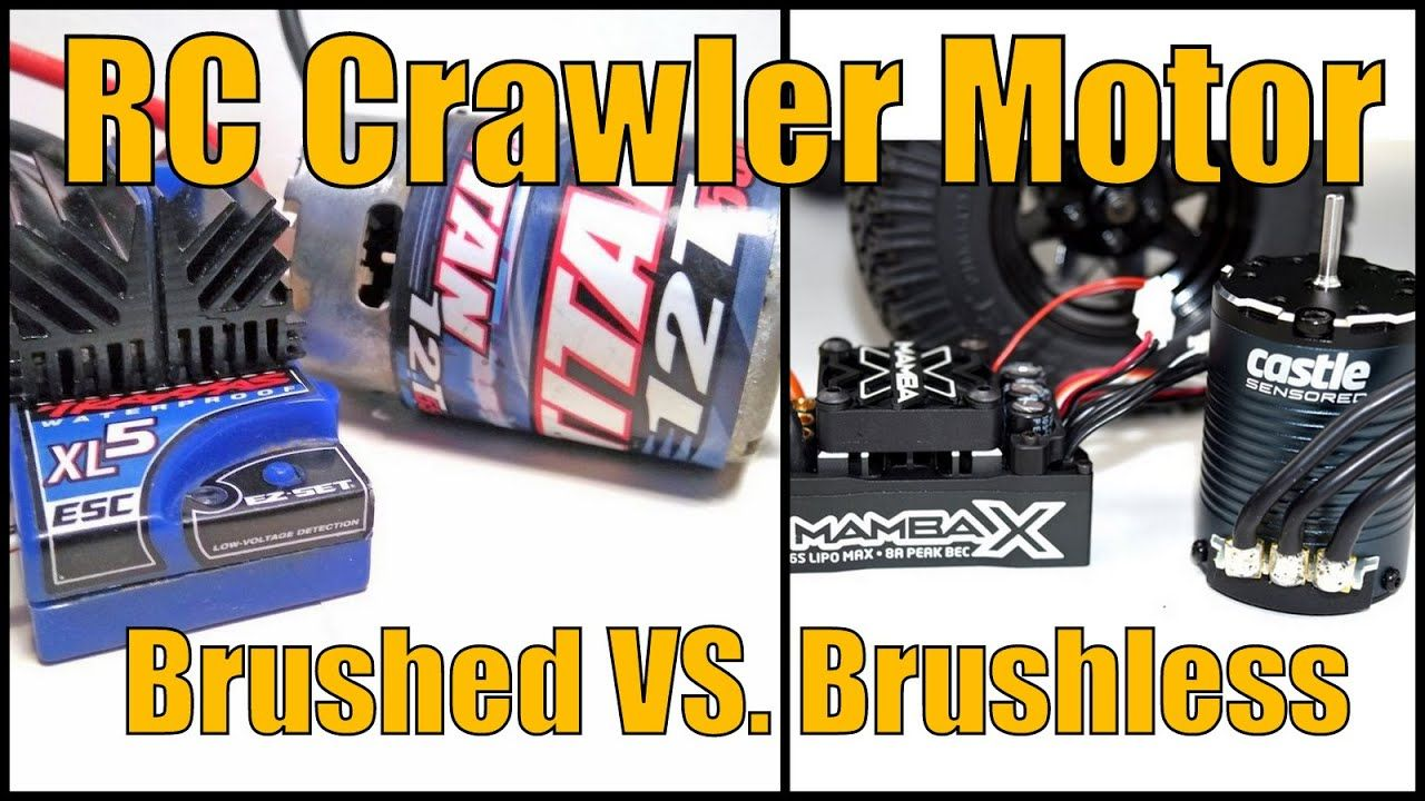 Upgrade To A Brushless Motor For An Rc Crawler Rc Crawler Crawlers Motor