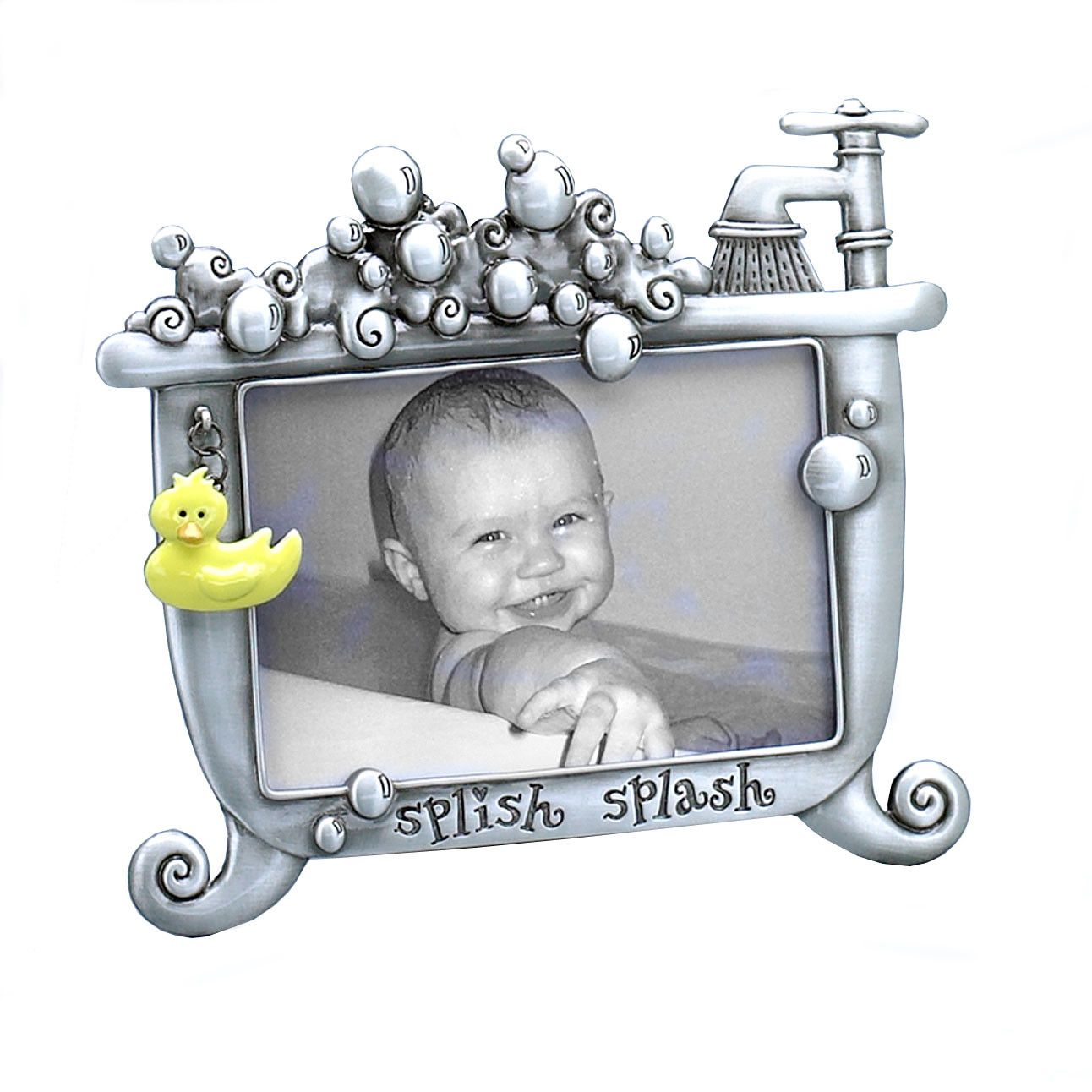 Fetco Home Decor Expressions Lexi Baby Splish Splash Picture Frame ...