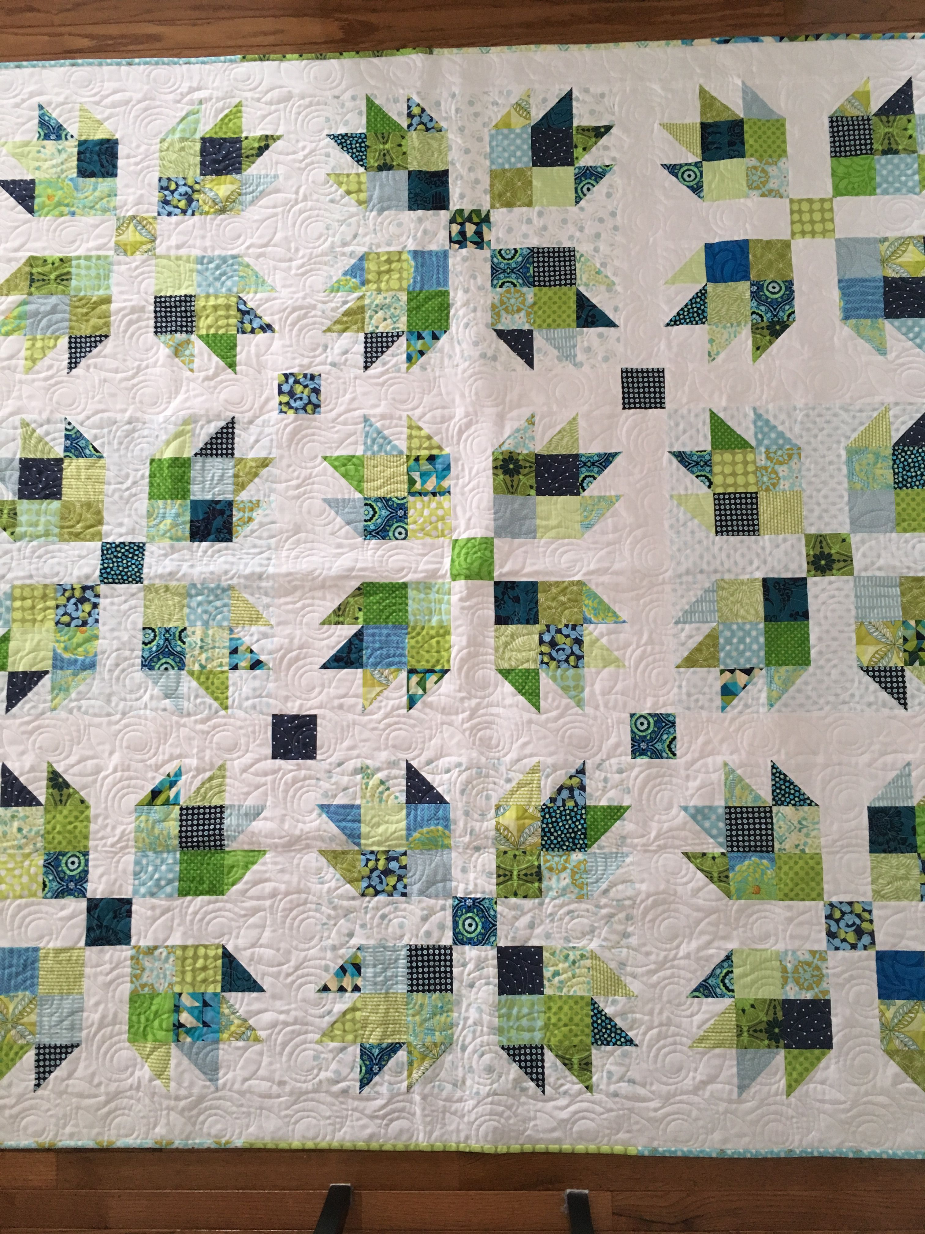 Modern Bear Paw Quilt Bear Paw Quilt Free Motion Quilt Designs Quilts