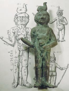 Radegast z Prillwitz opisany słowiańskimi runami