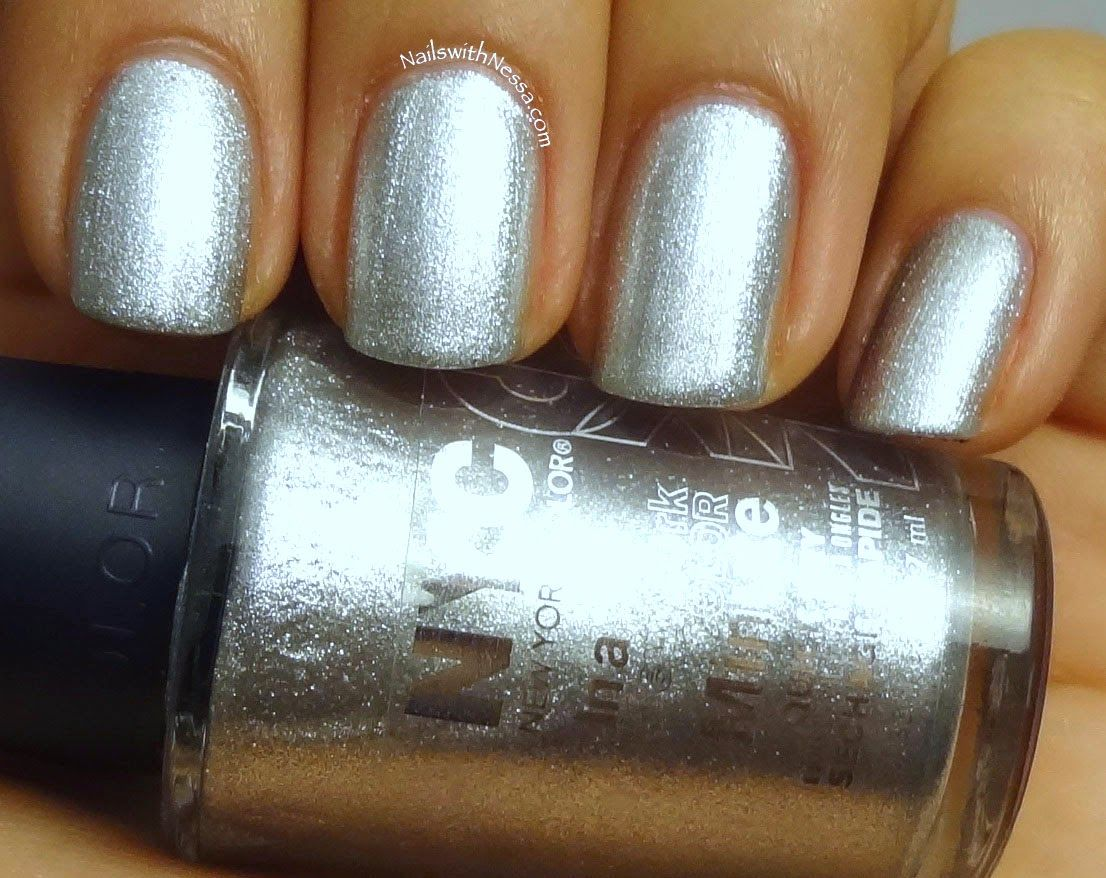 New York Color Quick Dry: A Series - Tribeca Silver |Nails with ...