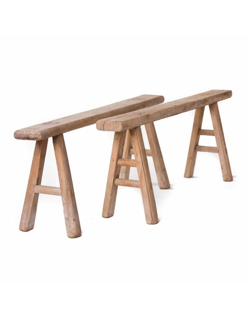 Peachy Antique Chinese Plain Wooden Bench In 2019 Furn Ottomans Uwap Interior Chair Design Uwaporg