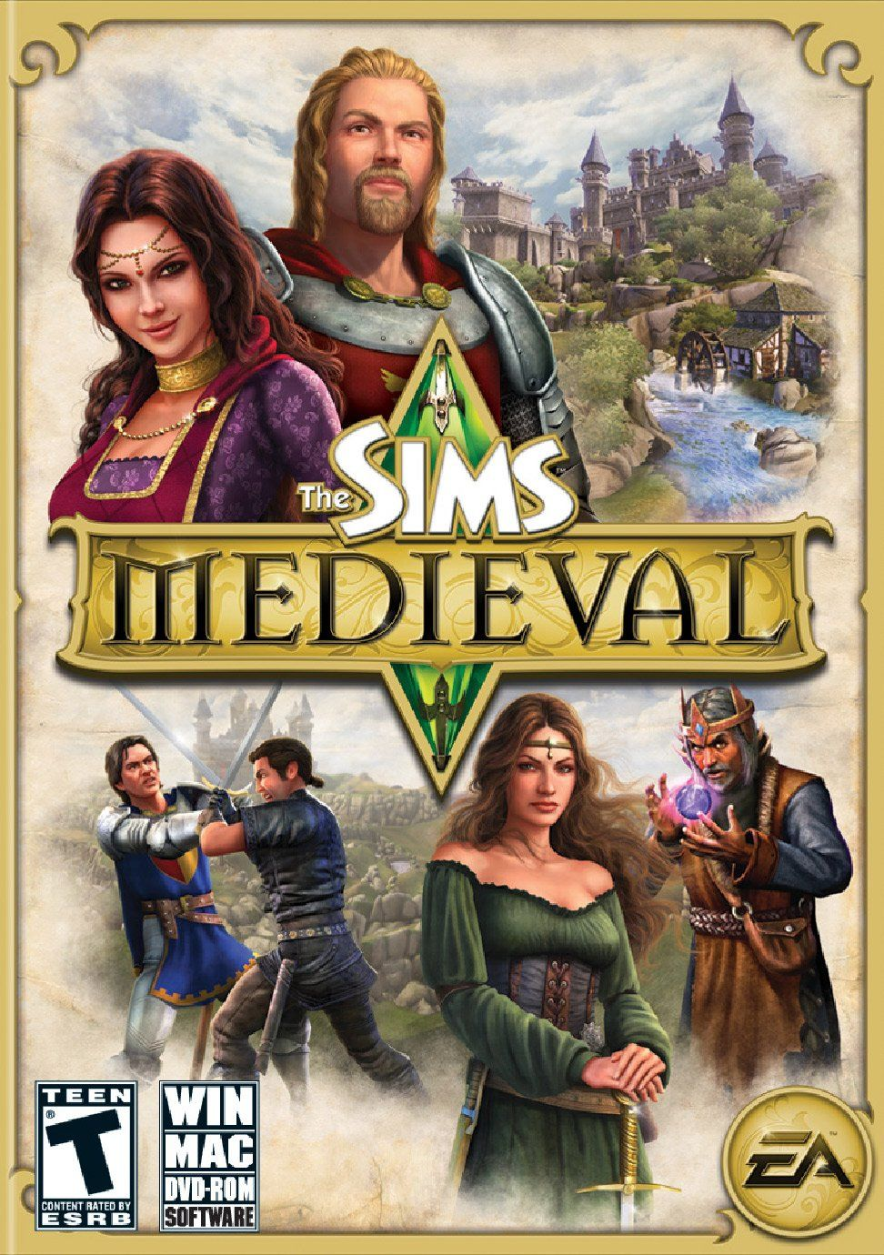Look book Sims medieval, Sims, Sims 4