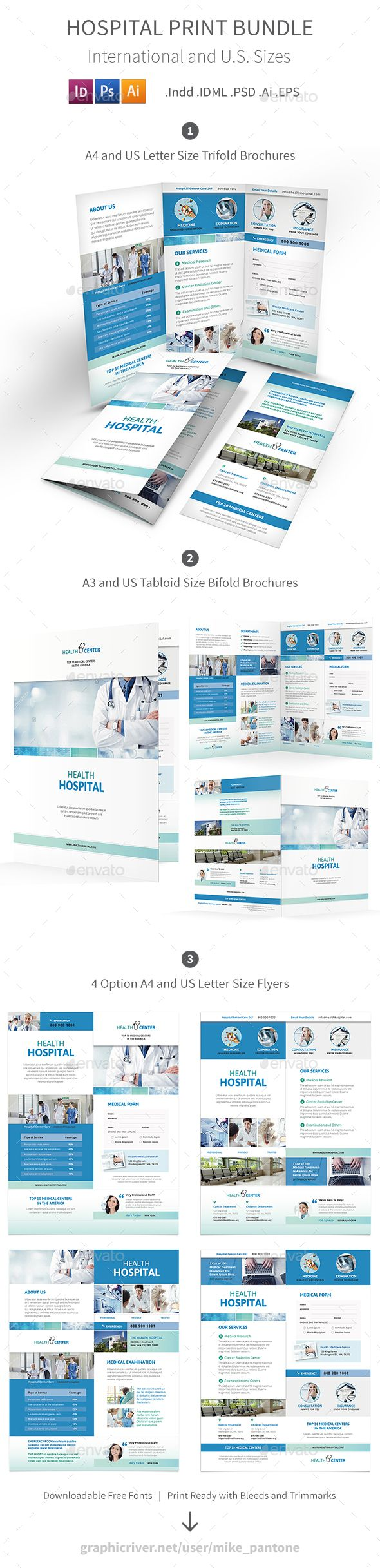 Hospital Print Bundle