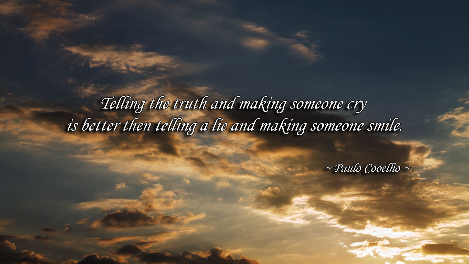 Telling Truth 13 Life Quotes High (1920×
