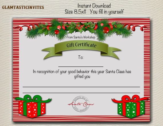 Christmas Gift Certificate Christmas Trip Gift Certificate Garla Christmas Gift Certificate Template Christmas Gift Voucher Templates Christmas Gift Vouchers