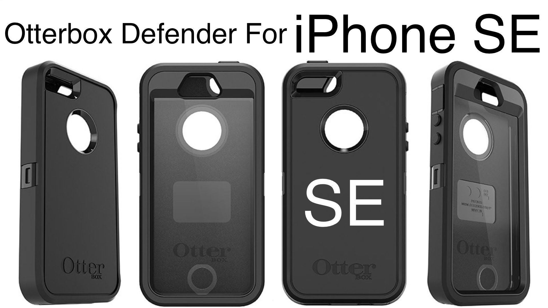 iPhone SE Otterbox Defender Series Case!  89c829343385