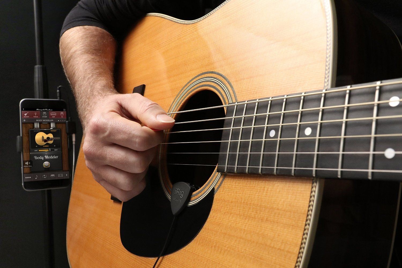 Irig Acoustic Guitar Microphone Petagadget Guitar Irig Acoustic