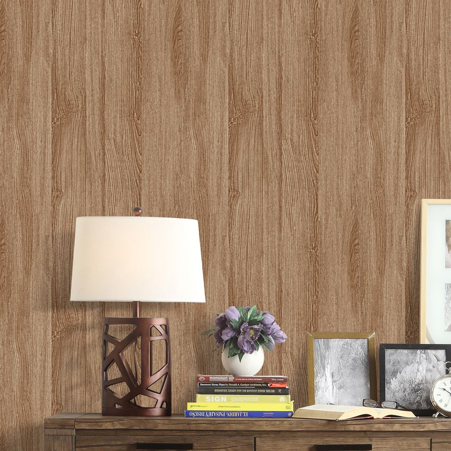 Wall In A Box Wib1010 Weathered Wallpaper Ash Pine Oak Sand Beige Brown Aged Wallpape Wood Wall Covering Living Room Design Inspiration Wood Wallpaper