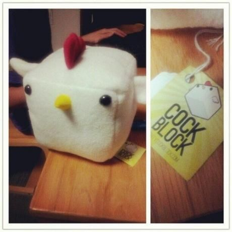 pffff... it's a cock block