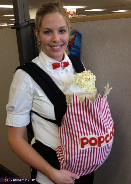 Homemade costumes for babies baby halloween costumes baby diy popcorn baby halloween costume solutioingenieria Image collections