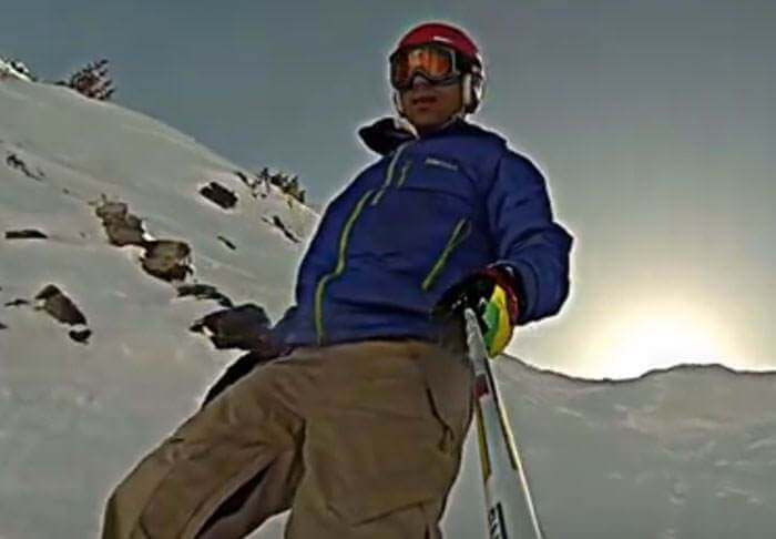 UFO Spotters Claim Snowboarder's GoPro Footage Has Captured Proof Of Aliens