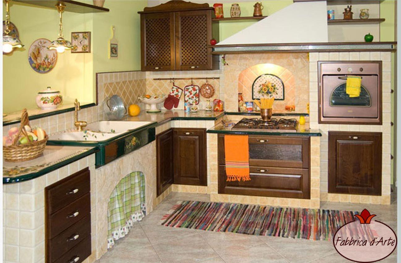 piastrelle di vietri per cucina - cerca con google | cucine ... - Piastrelle Cucina In Muratura