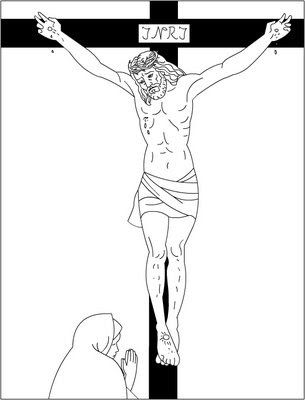 Nicole\'s Free Coloring Pages: Jesus Loves Me * Bible coloring pages ...
