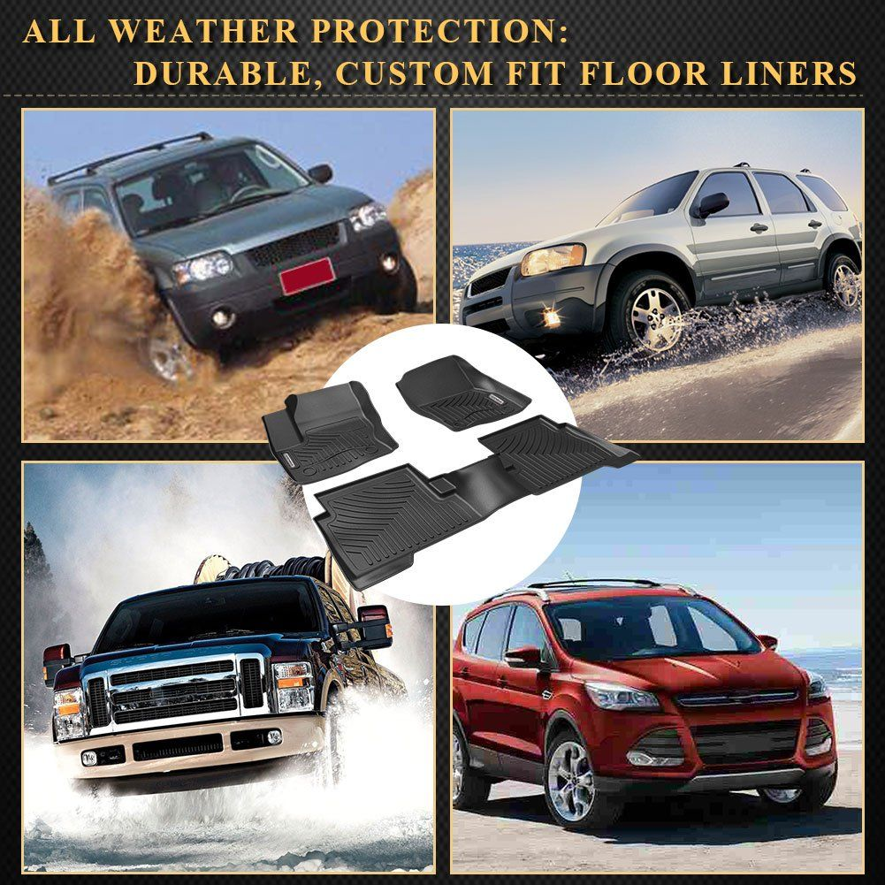 YITAMOTOR Car Floor Mats for 20152018 Ford Escape