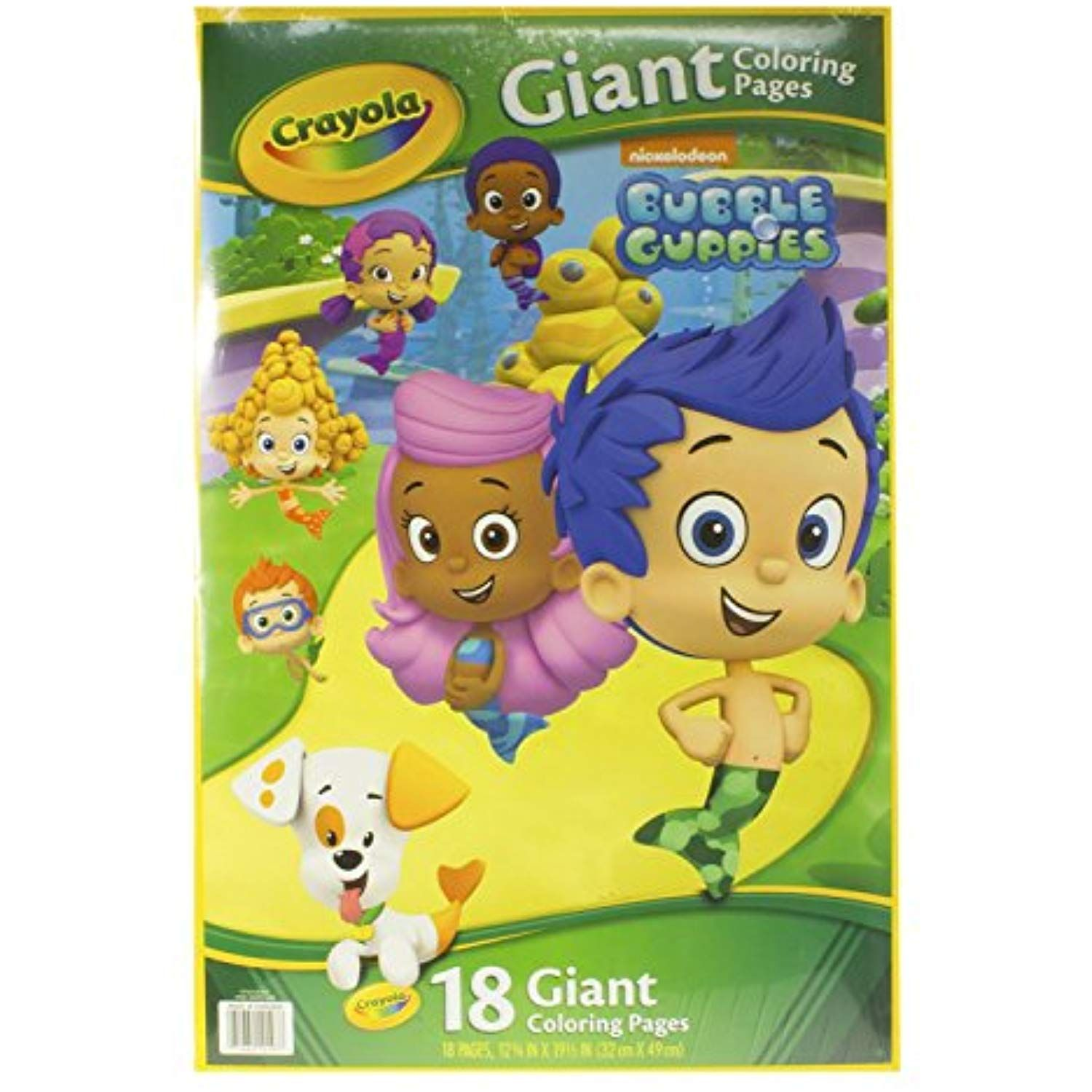 Crayola Bubble Guppies Giant Coloring Pages Click On The Image For Additional Details This Is An Affiliate Link Art Bubble Guppies Crayola Coloring Pages [ 1500 x 1500 Pixel ]