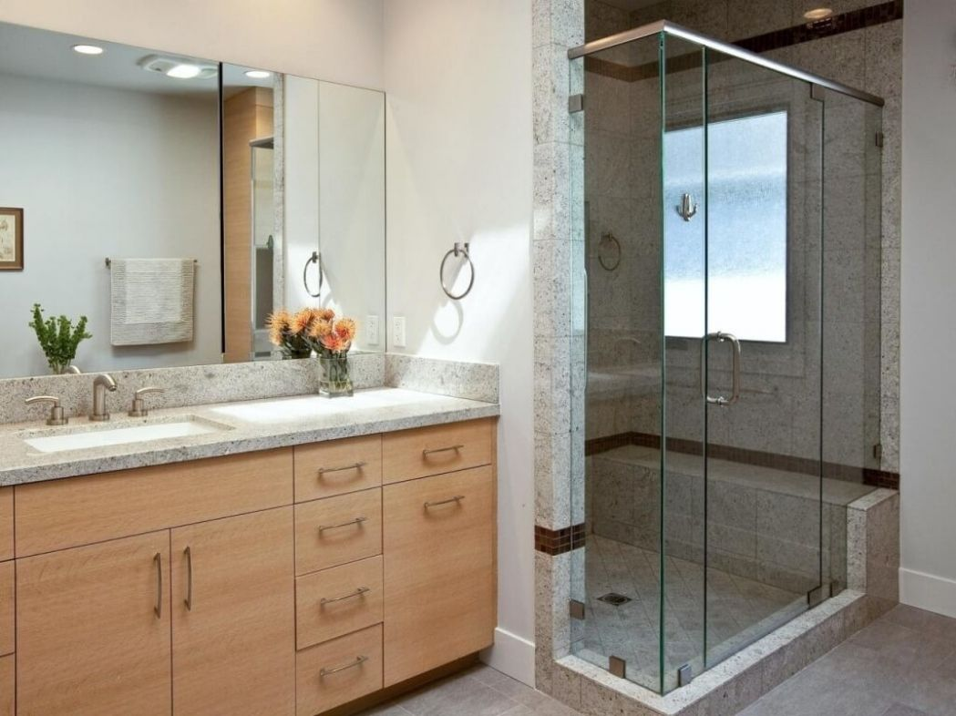 24 Fantastic Frameless Bathroom Mirrors Large Bathroom Mirrors