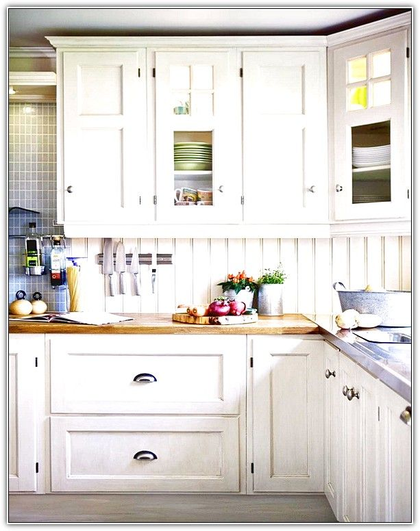 luxury white kitchen cabinet hardware ideas rumah dekorasi on kitchen cabinets no handles id=66176