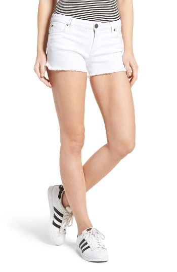 Free shipping and returns on STS Blue Raw Hem Denim Shorts at Nordstrom.com. Bid adieu to your winter white wardrobe (until next year, at least) and welcome the warmer weather with these bright white denim shorts styled with a frayed hem for a casual-cool vibe.