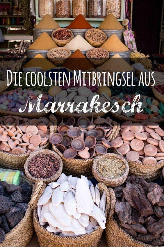 Auf Ihrer Einkaufsliste: Die coolsten Souvenirs aus Marrakesch   – Reiseziele Weltweit  Ideen