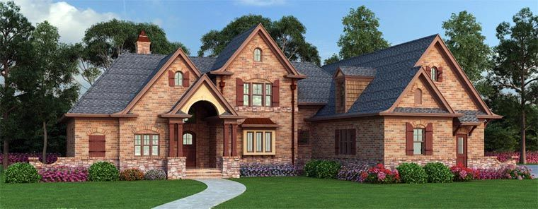 European French Country Traditional House Plan 72166 | House ...